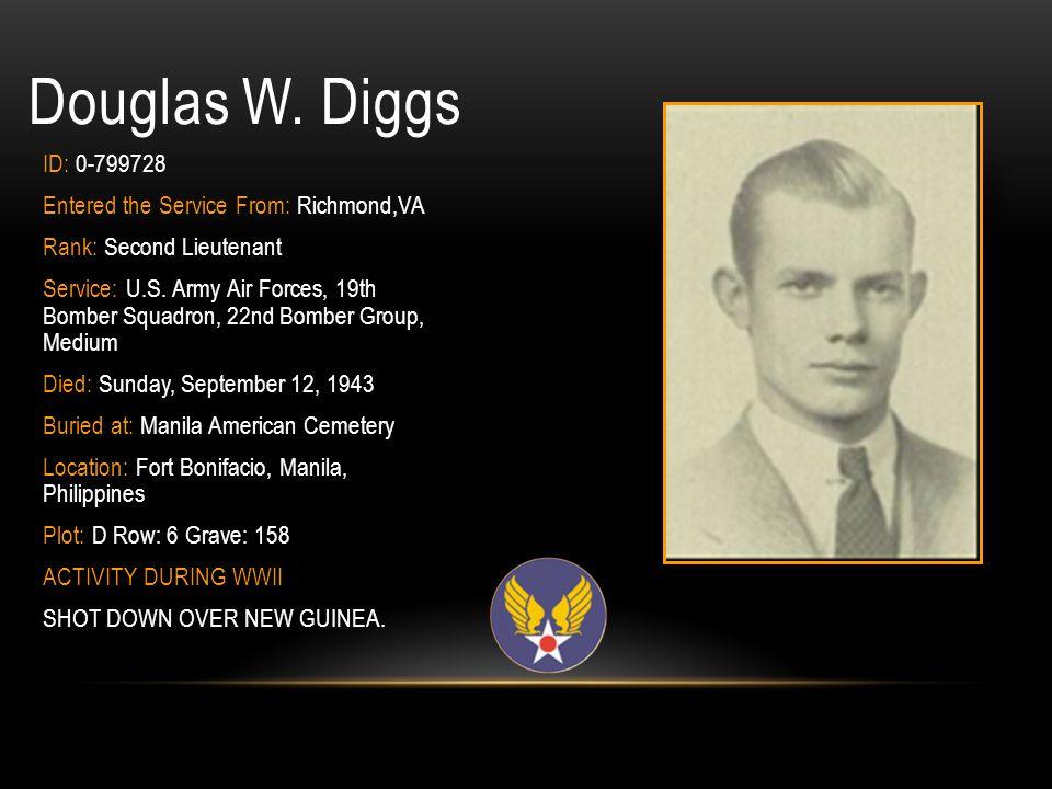 PVT Floyd E.Delaney Jr. ID: 33860175 Branch of Service: U.S.