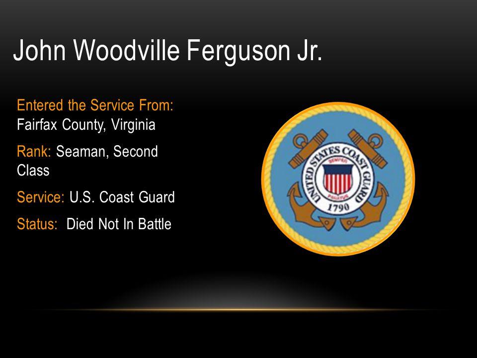 Stephen Gordon Ellis Rank: Sergeant Branch of Service: U.S.