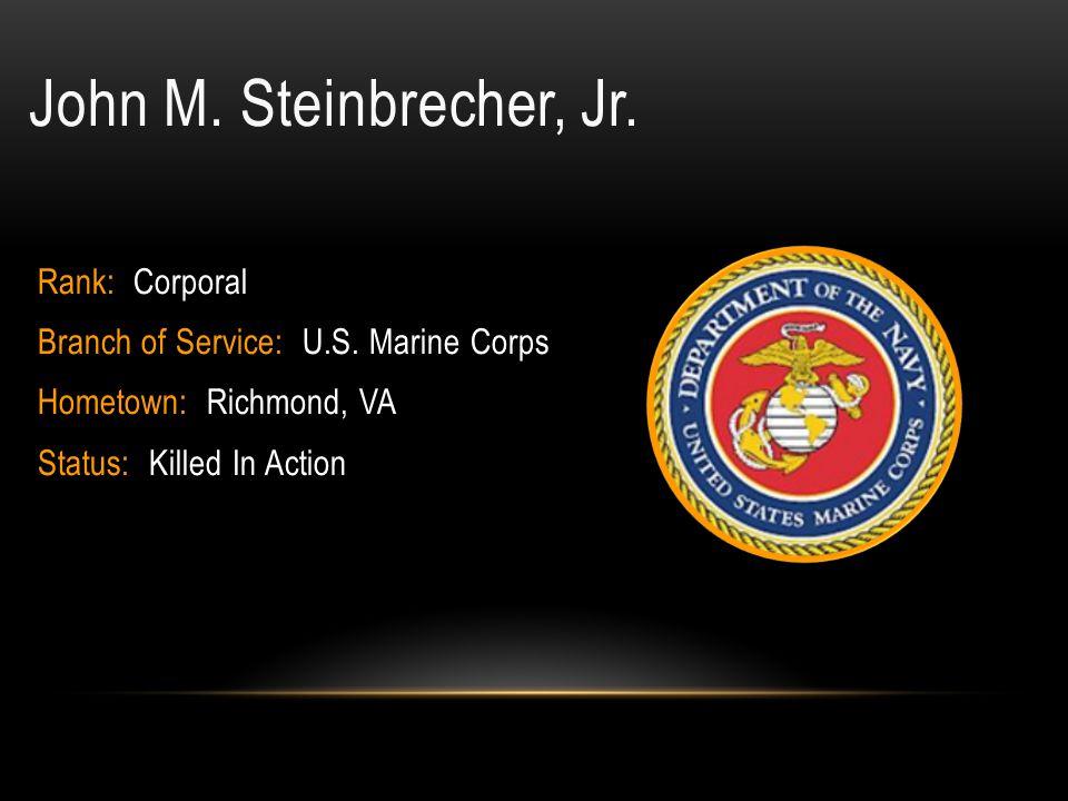 Rufus Carl Smoot, JR.Rank: Seaman Apprentice Branch of Service: U.S.