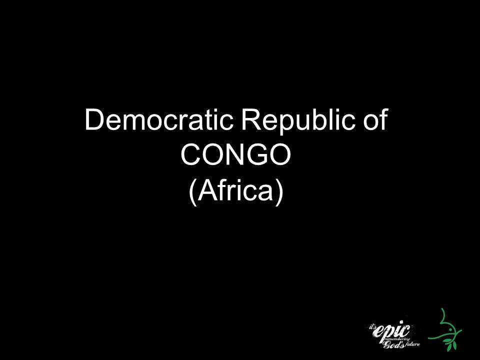 Democratic Republic of CONGO (Africa)