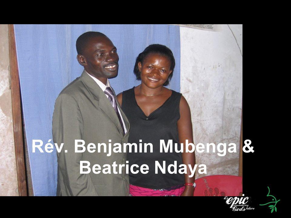 Rév. Benjamin Mubenga & Beatrice Ndaya