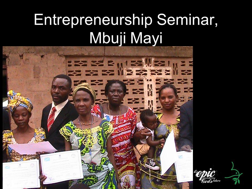 Entrepreneurship Seminar, Mbuji Mayi