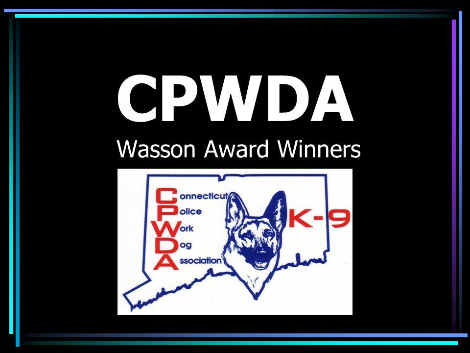 CPWDA Wasson Award Winners