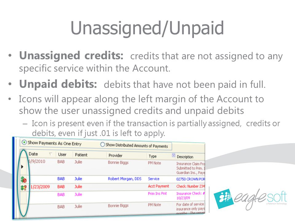 Debit Adjustments Security item – 'Edit Credit Distribution' will impact Debit Adjustments.