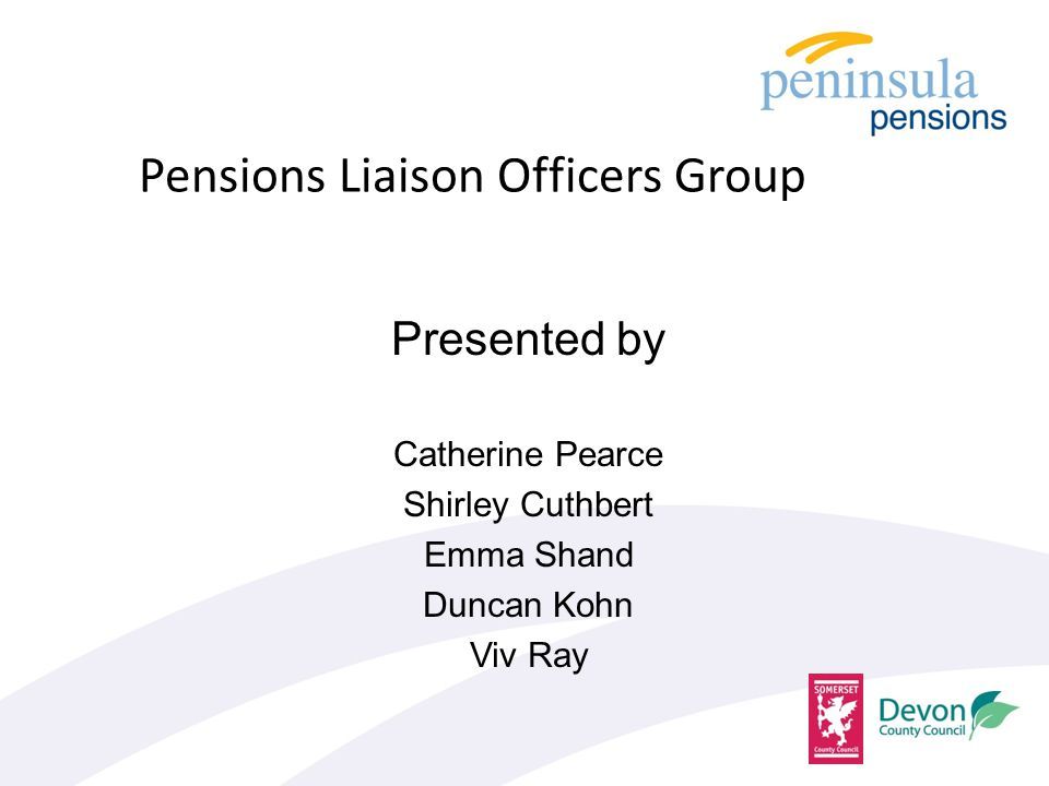 Agenda Introduction Absences and APCs Admin Strategy Admin Update – Employer discretions – Employer responsibilities – Leavers Form – Employers Guide – Employer Self Service Pensionable Pay
