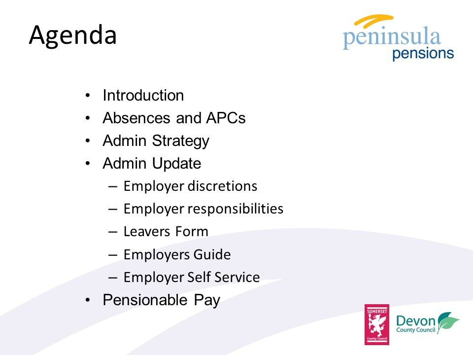 Absences Why is it necessary for Peninsula Pensions to be notified of all unpaid absences.