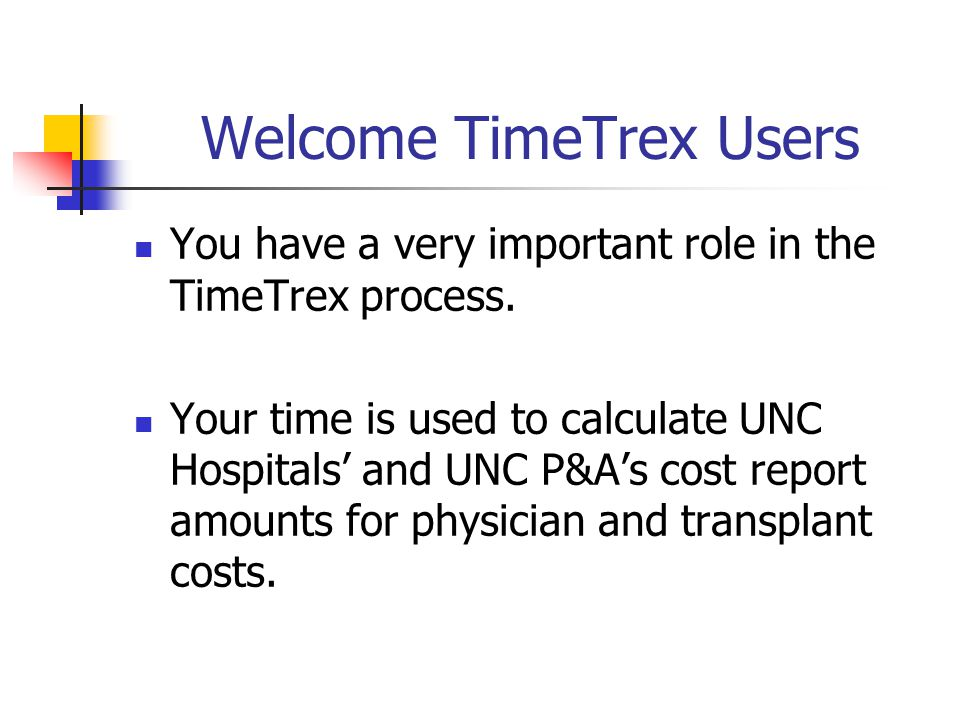 What does TimeTrex represent???