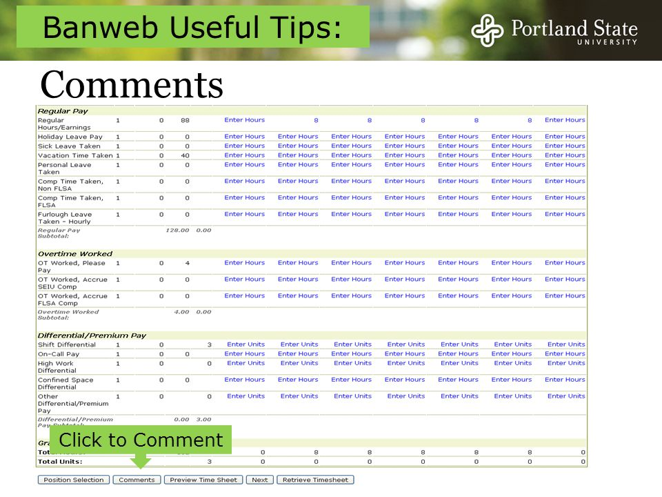 Comments Click to Comment Banweb Useful Tips: