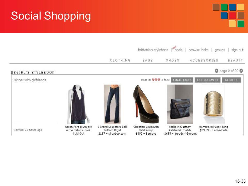 16-33 Social Shopping