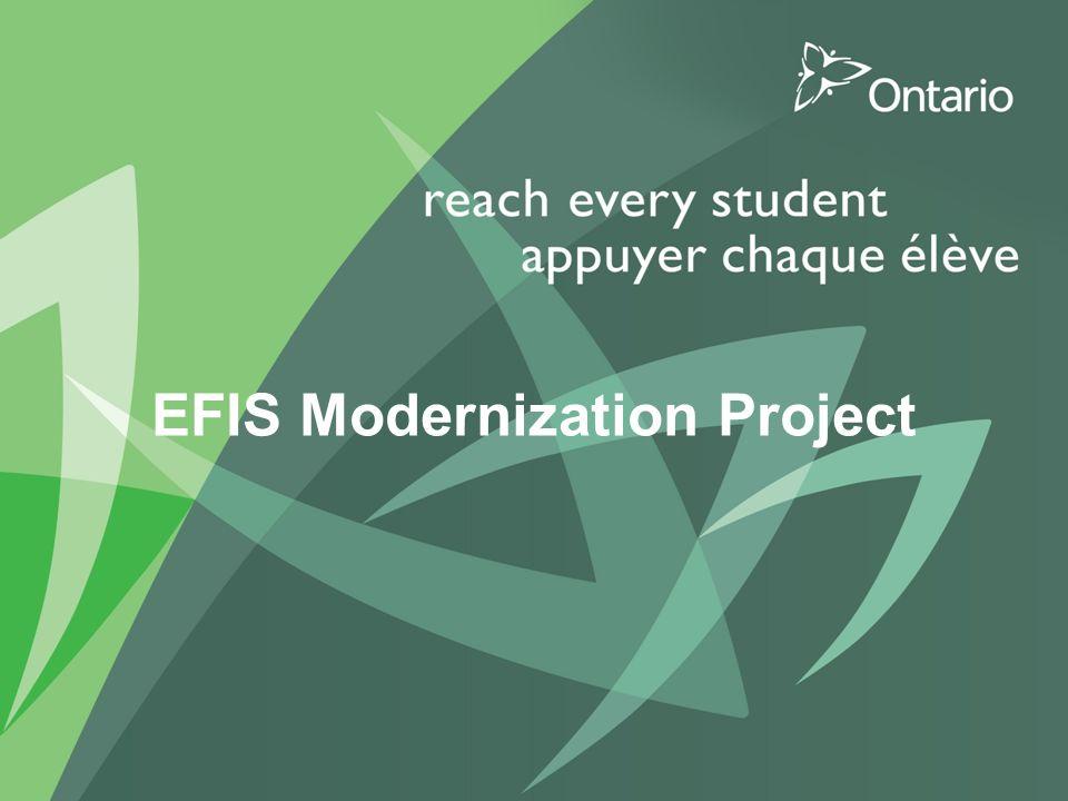 EFIS Modernization Project