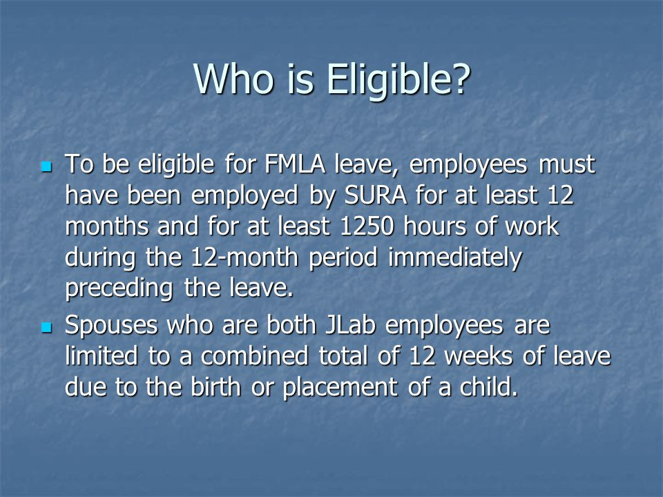 What are FMLA-qualifying events.1.