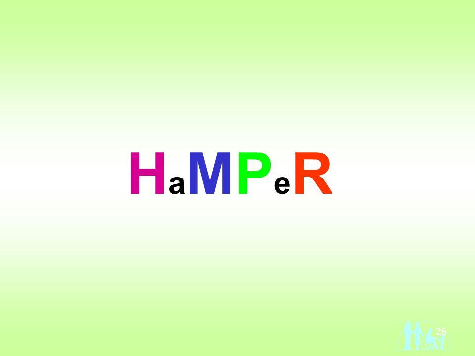 25 HaMPeRHaMPeR