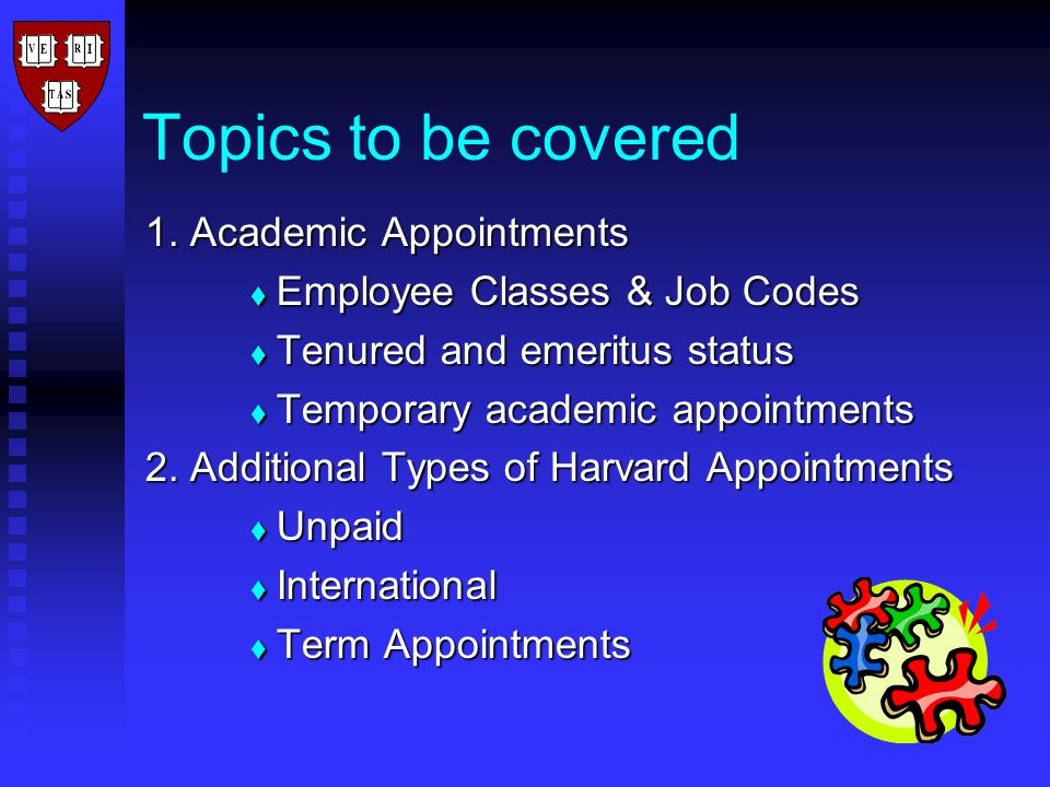 Topics to be covered 1.