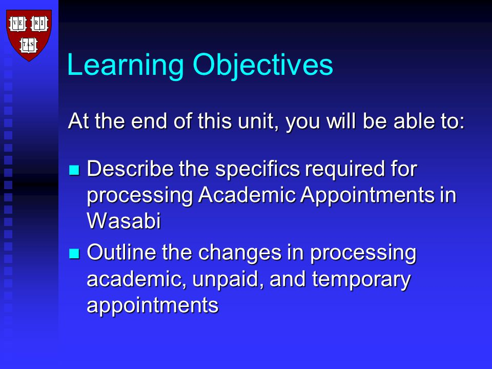 Resources Tool Tips Tool Tips Work instructions Work instructions www.hsph.harvard.edu/academicaffairs www.hsph.harvard.edu/academicaffairs www.hsph.harvard.edu/academicaffairs www.atwork.harvard.edu www.atwork.harvard.edu www.atwork.harvard.edu Wasabi Manual Wasabi Manual ABLE ABLE