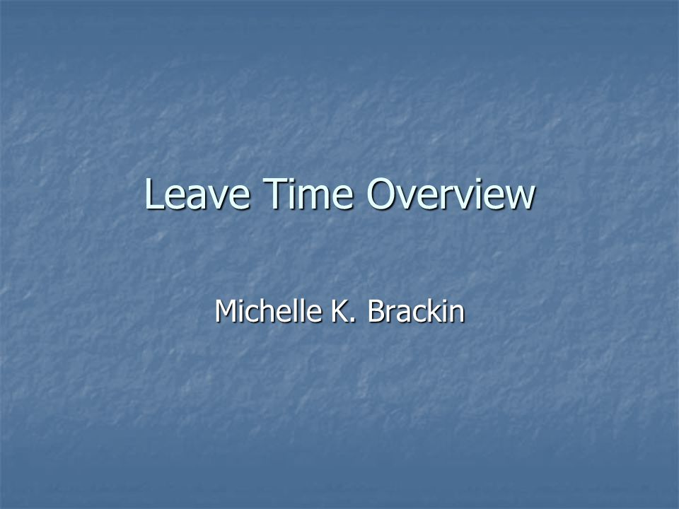 Unpaid Leave of Absence Not necessarily for medical issues Not necessarily for medical issues Unpaid and you may not use your accrued time Unpaid and you may not use your accrued time Minimum of 30 days to a max.