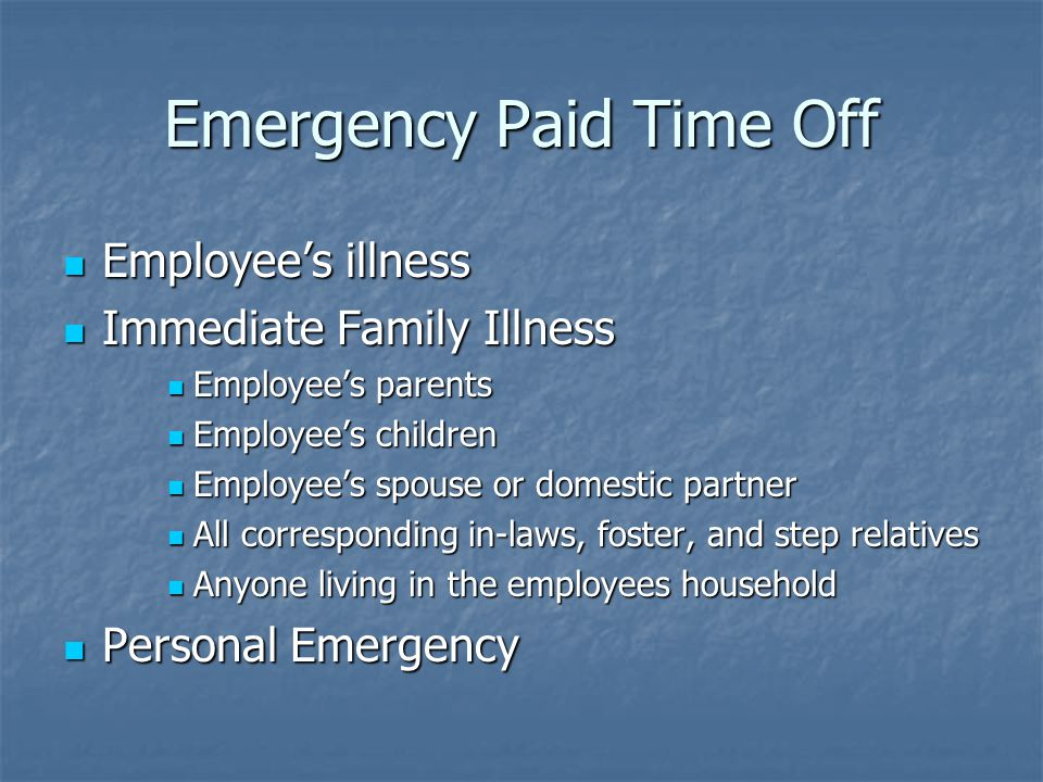 EPTO limits Employees may earn up to 1040 hours Employees may earn up to 1040 hours Only 40 hours of earned EPTO may be used in a fiscal year for family illness and /or personal emergency Only 40 hours of earned EPTO may be used in a fiscal year for family illness and /or personal emergency All earned EPTO may be used for the employee's illness All earned EPTO may be used for the employee's illness