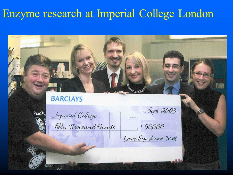 Enzyme research at Imperial College London