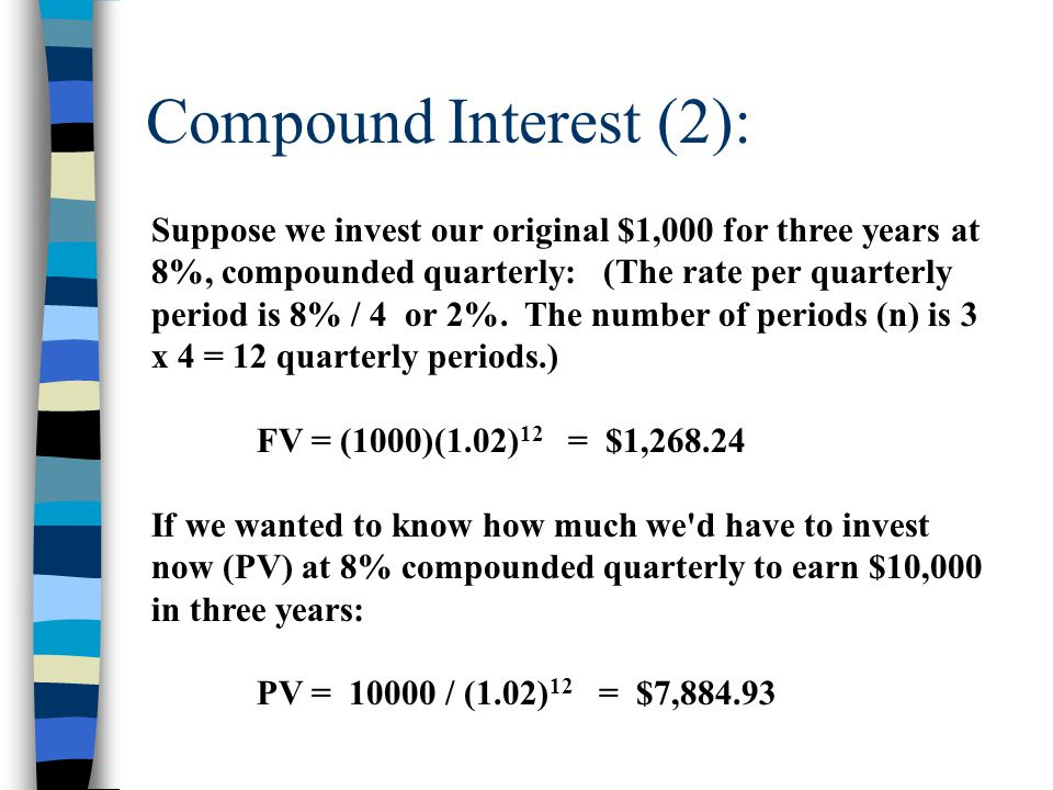 Compound Interest (3): Because raising interest factors to an exponent of n was a difficult calculation before calculators, some mathematicians used logarithmic functions to calculate the exponent factor.