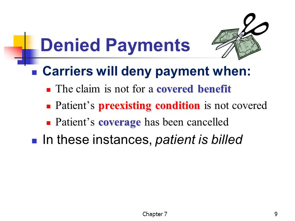 Chapter 710 Overdue Claims Claims must be monitored until payments are received.