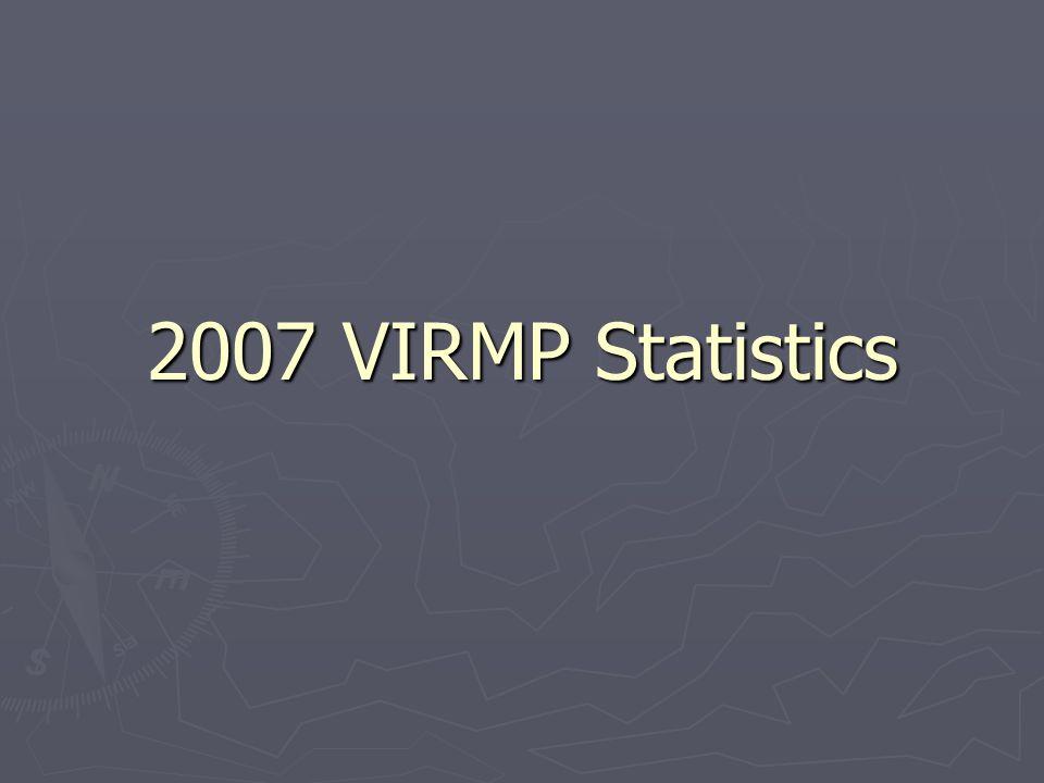 2007 VIRMP Statistics