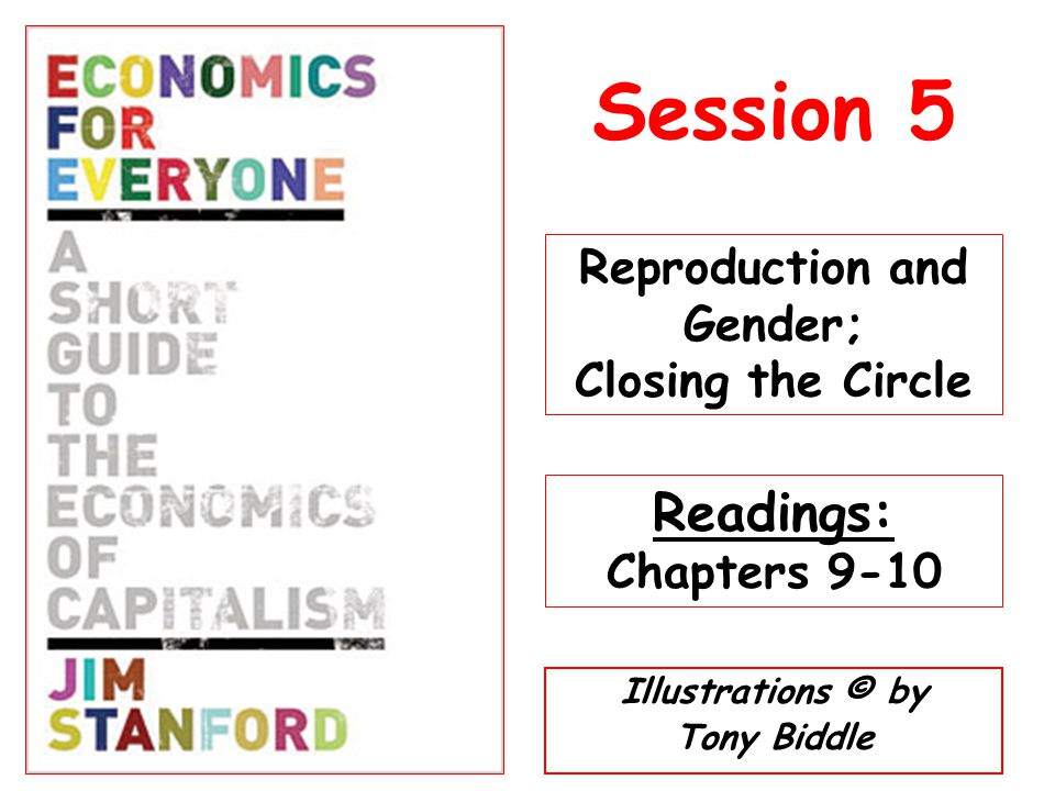 Illustrations © by Tony Biddle Session 5 Reproduction and Gender; Closing the Circle Readings: Chapters 9-10