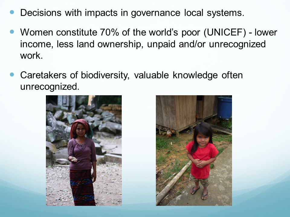 Decisions with impacts in governance local systems.