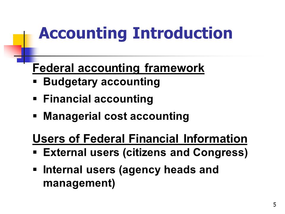 16 Federal Accounting Standards Advisory Board (FASAB) Develops and recommends federal accounting concepts and standards established in 1990 5 Concepts 36 Standards Federal Generally Accepted Accounting Principles (GAAP)