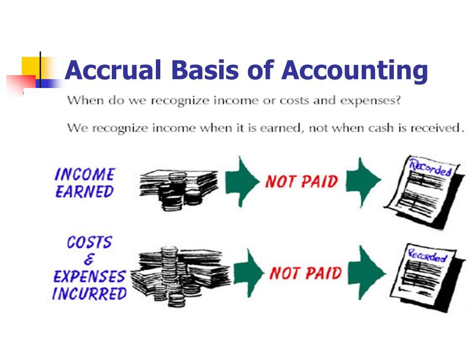 60 Accrual Basis of Accounting