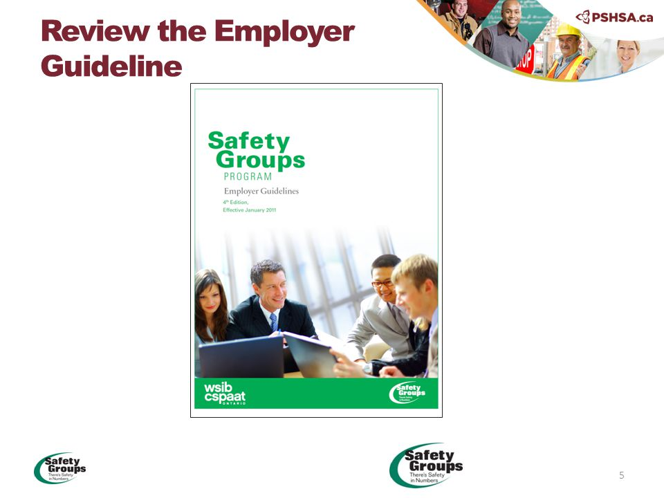 Review the Employer Guideline 5