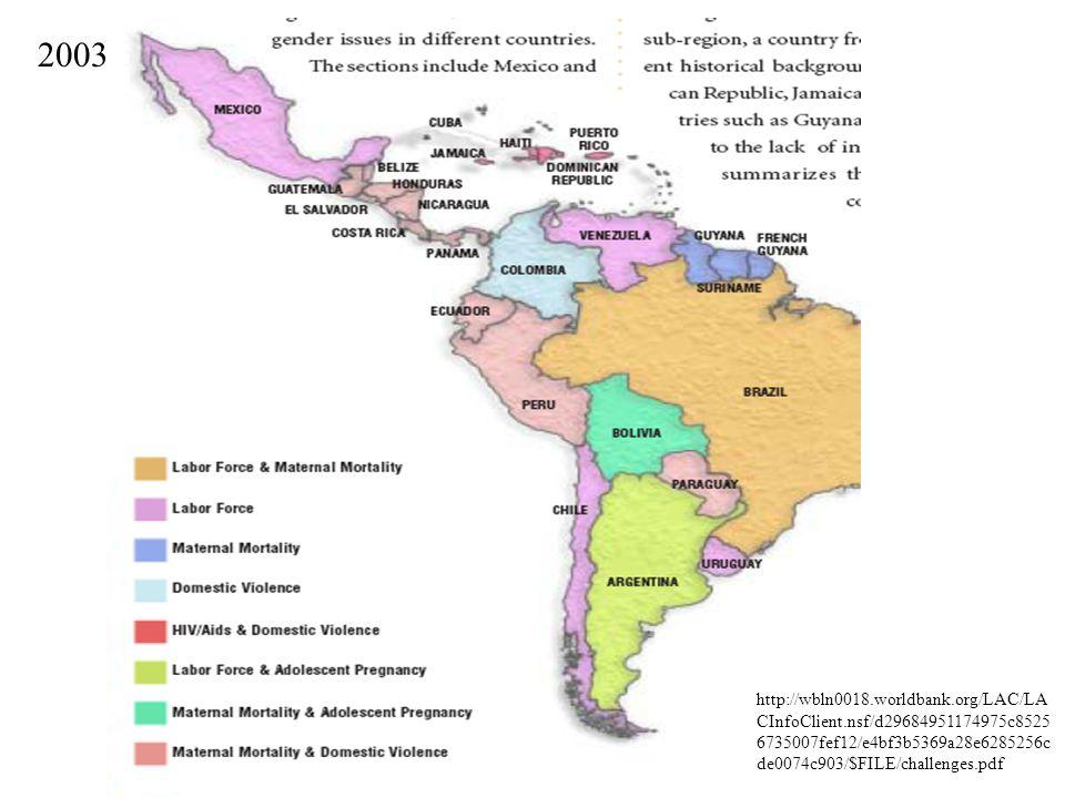 http://wbln0018.worldbank.org/LAC/LA CInfoClient.nsf/d29684951174975c8525 6735007fef12/e4bf3b5369a28e6285256c de0074c903/$FILE/challenges.pdf 2003