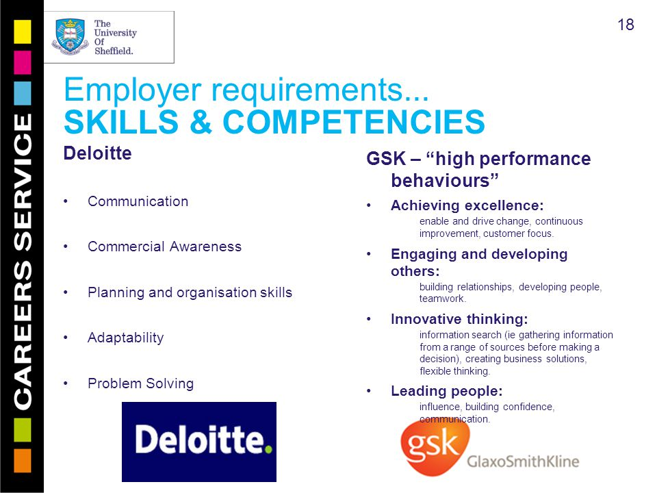 Employer requirements...