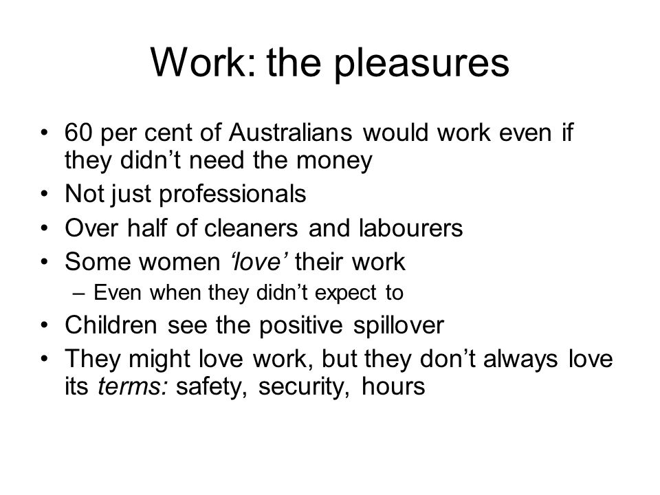 The measures: Tilts bargaining 'Fair pay Commission' weak unfair dismissal protections More anti-collective than US law Australian Industrial Relations Commission neutered