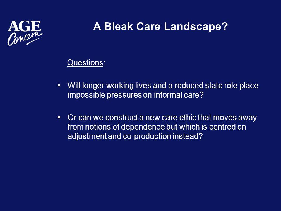 A Bleak Care Landscape.