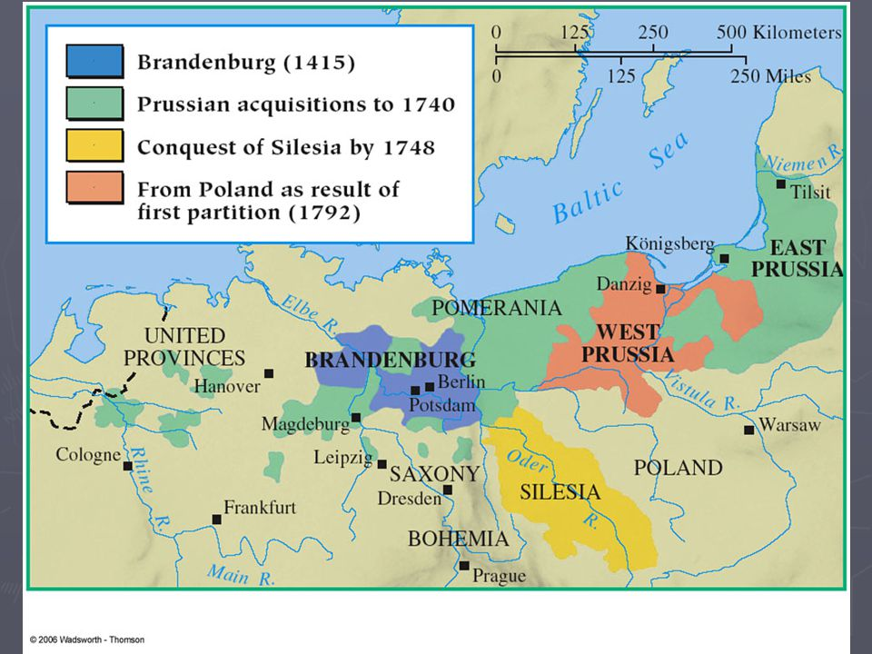 the rise and growth of prussia The rise and fall of the great powers: principally because of the uneven rate of growth among different societies and of using britain, france, prussia.