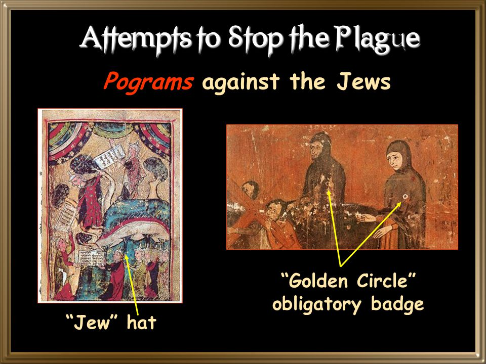 Attempts to Stop the Plague Flagellanti: Self-inflicted penance for our sins!