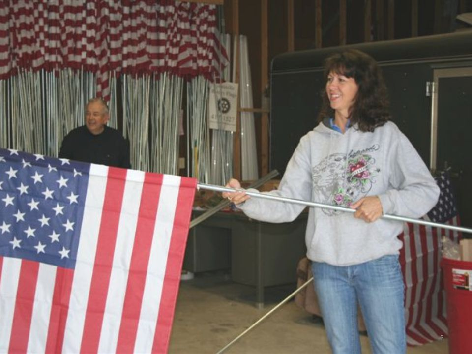 Why our Flag Program works.Louisville & Nimishillen Twp.