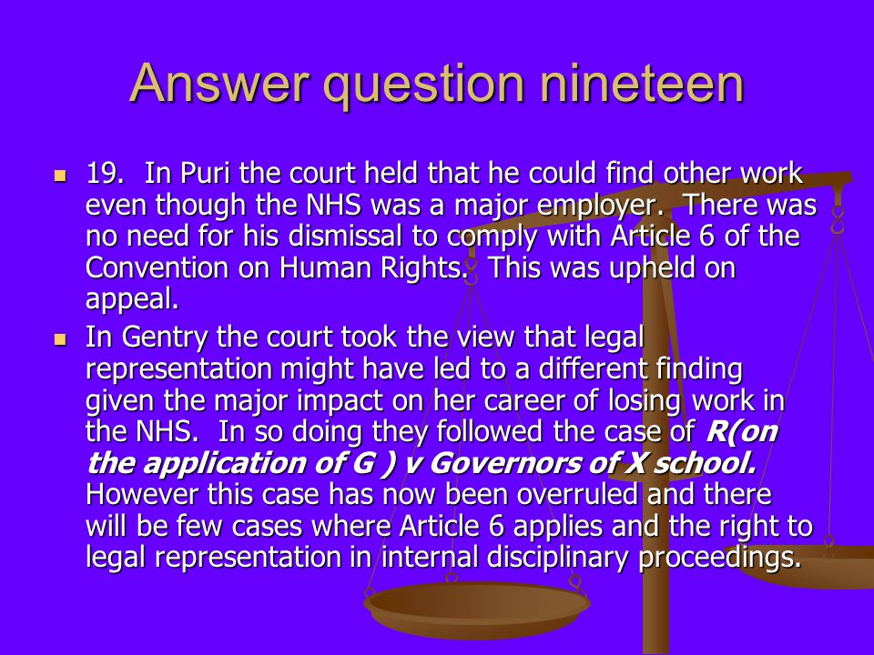 Answer question nineteen 19.