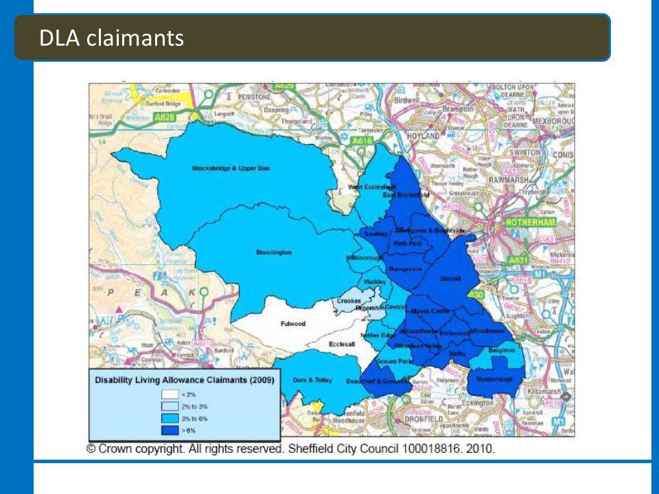 DLA claimants
