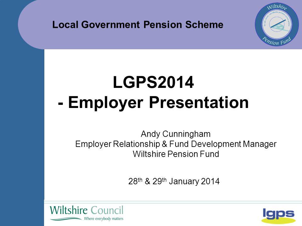 Local Government Pension Scheme 1.4.