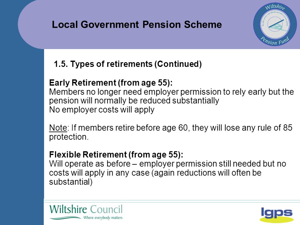 Local Government Pension Scheme 1.5.
