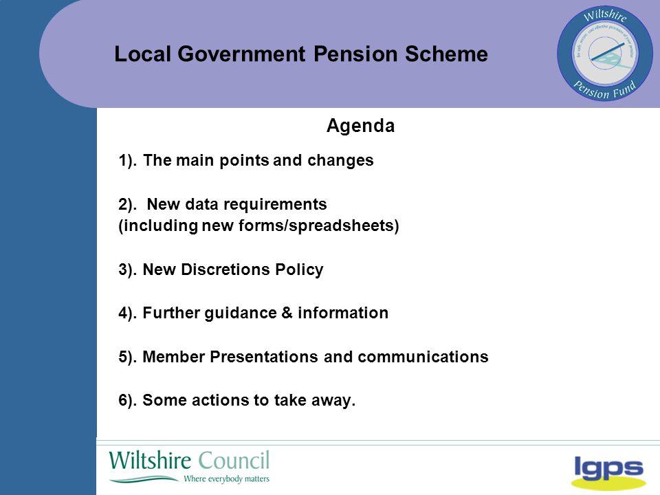 Local Government Pension Scheme 2.2.
