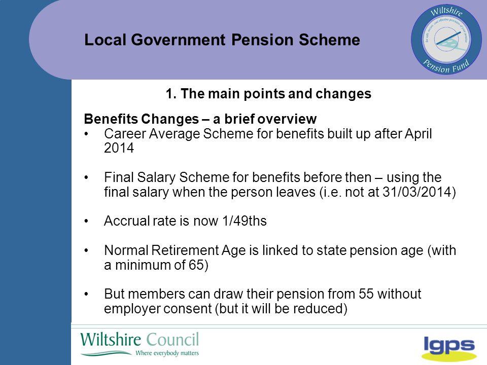 Local Government Pension Scheme 1.5.