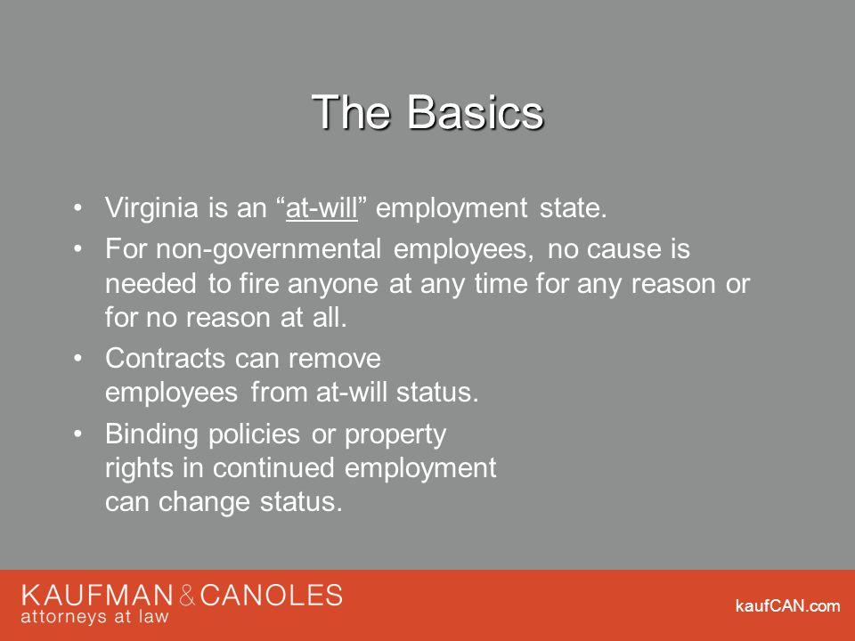 kaufCAN.com Title VII: National Origin Discrimination But did you know...