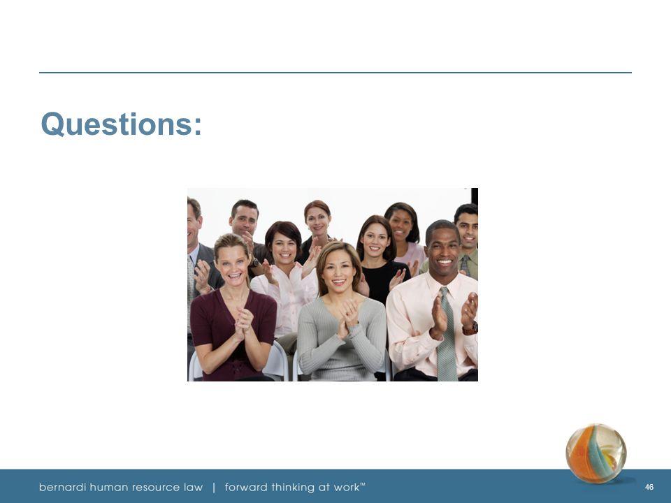 46 Questions:
