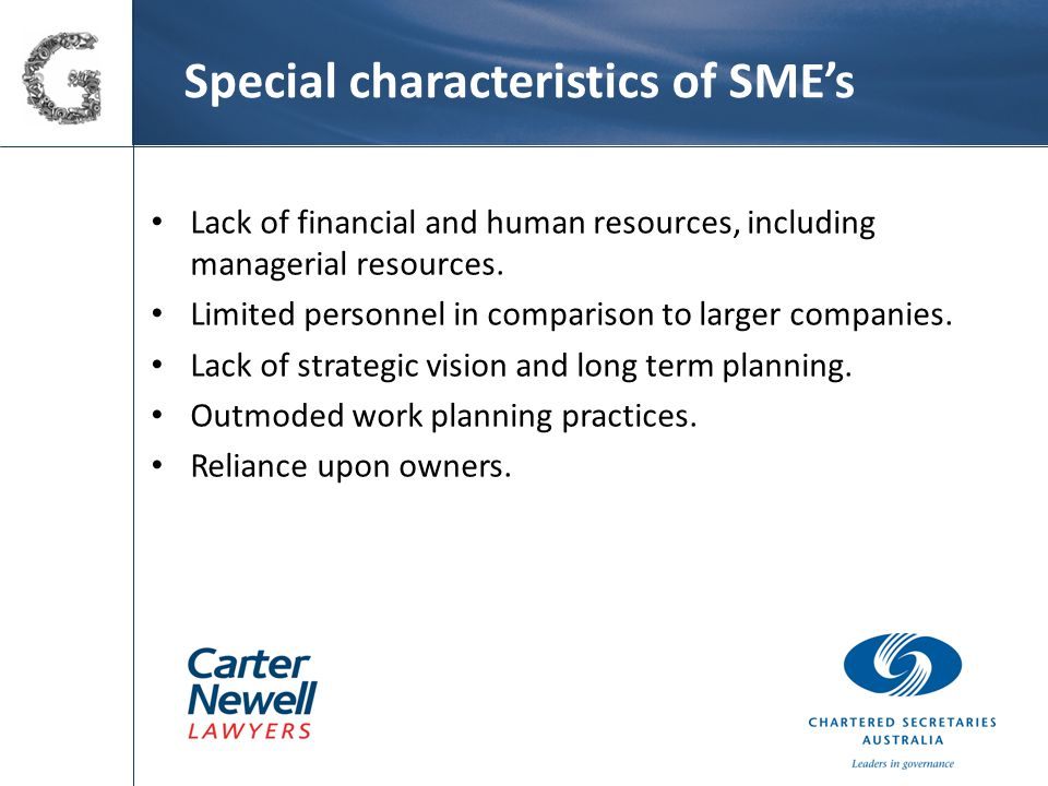 Corporate governance challenge for SME's – financial literacy The Centro case left many observers wondering about directors' liability for inaccurate financial statements.