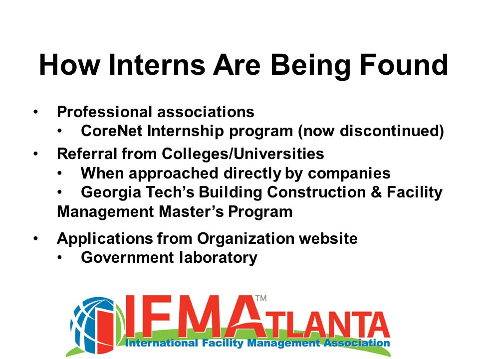 Marks of a Successful Internship Program The work being asked of the intern should be meaningful to the organization There should be a finite deliverable that can be accomplished within the timeframe they are working there.