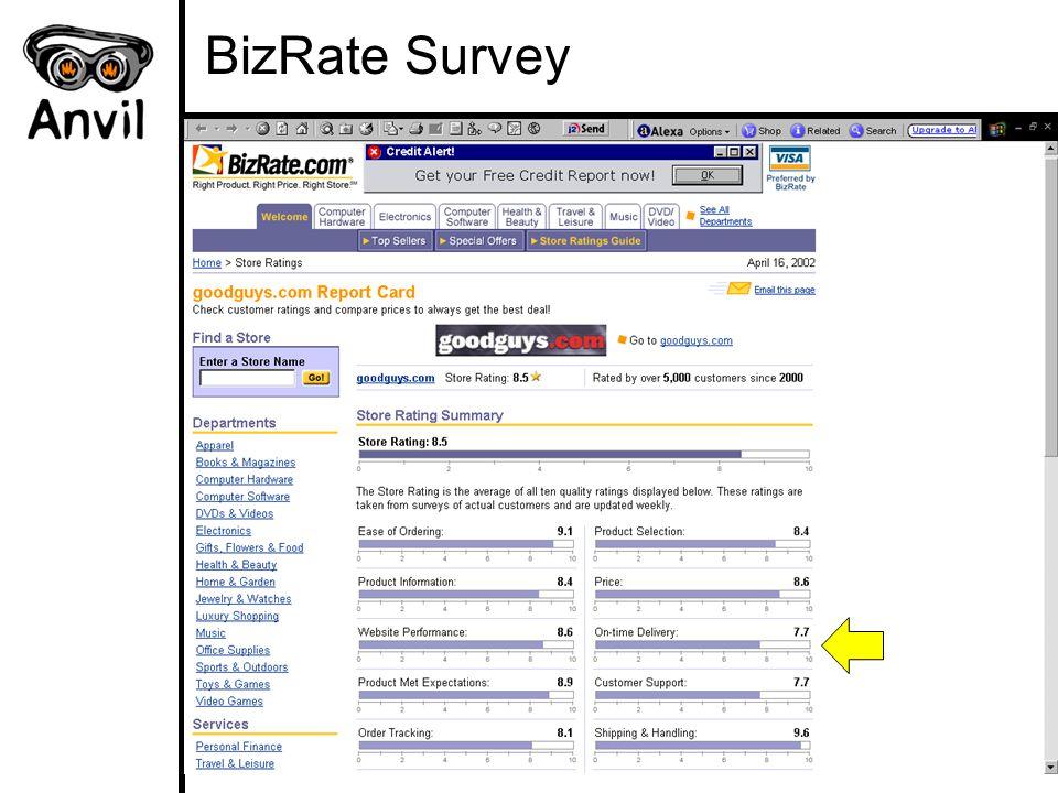 BizRate Survey