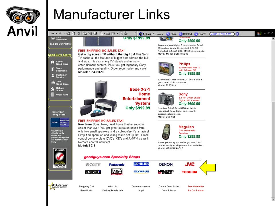 Manufacturer Links
