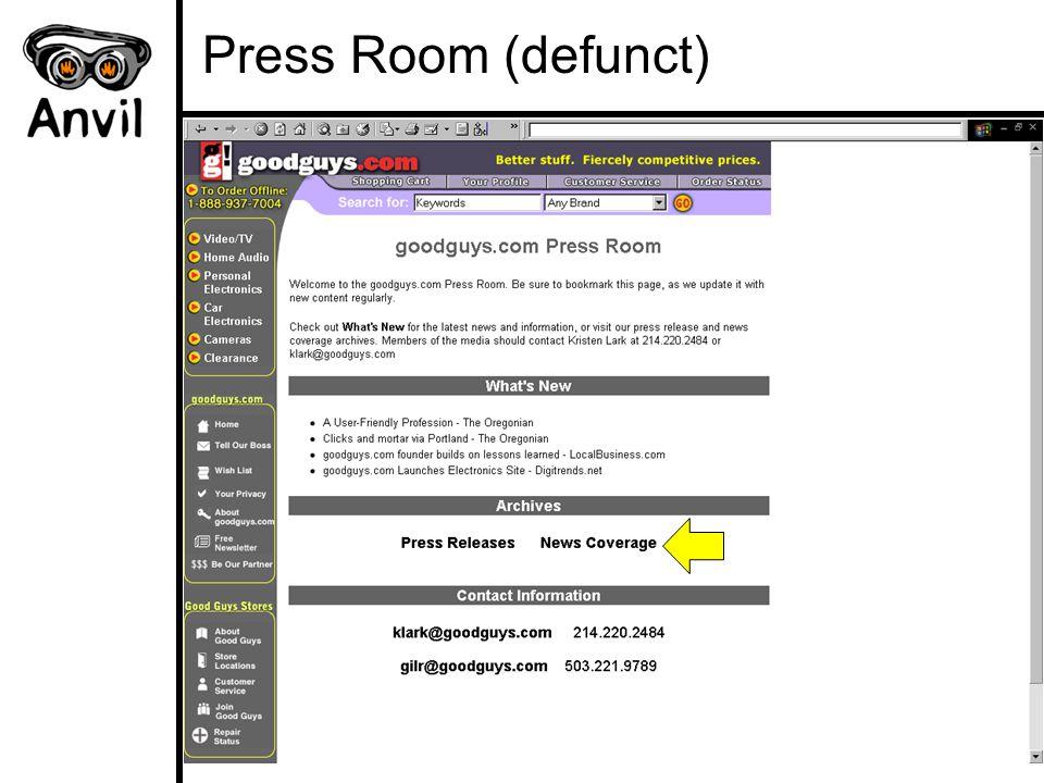 Press Room (defunct)