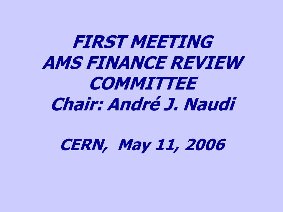 AGENDA 1.Welcome by the Chairman (A. J. Naudi) 2.